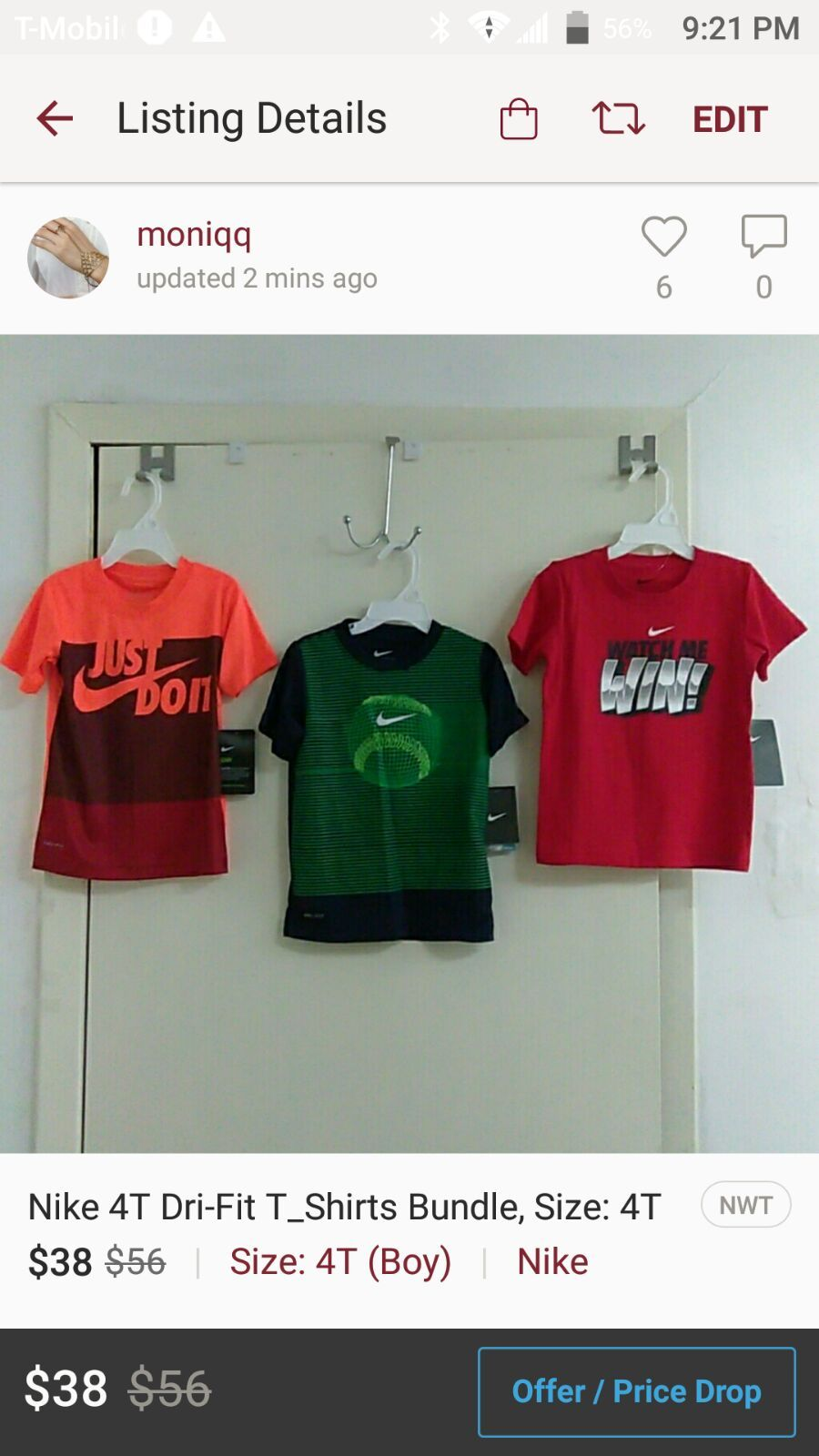 nike 3 pack t shirt