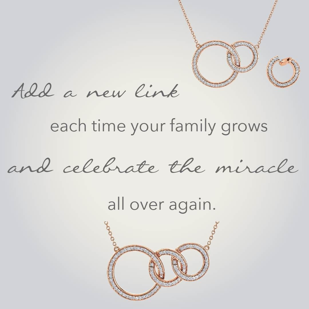 8830f635e699d A Miracle Links necklace is a beautiful, sentimental gift that can ...