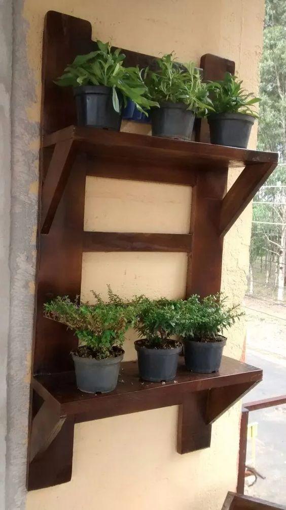 Repisas para jardin macetas repisas metalicas y repisas for Jardin vertical mercadolibre