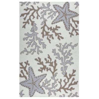 Beachcrest Home Maryland Hand Tufted Off White Tan Indoor Outdoor Area Rug Size