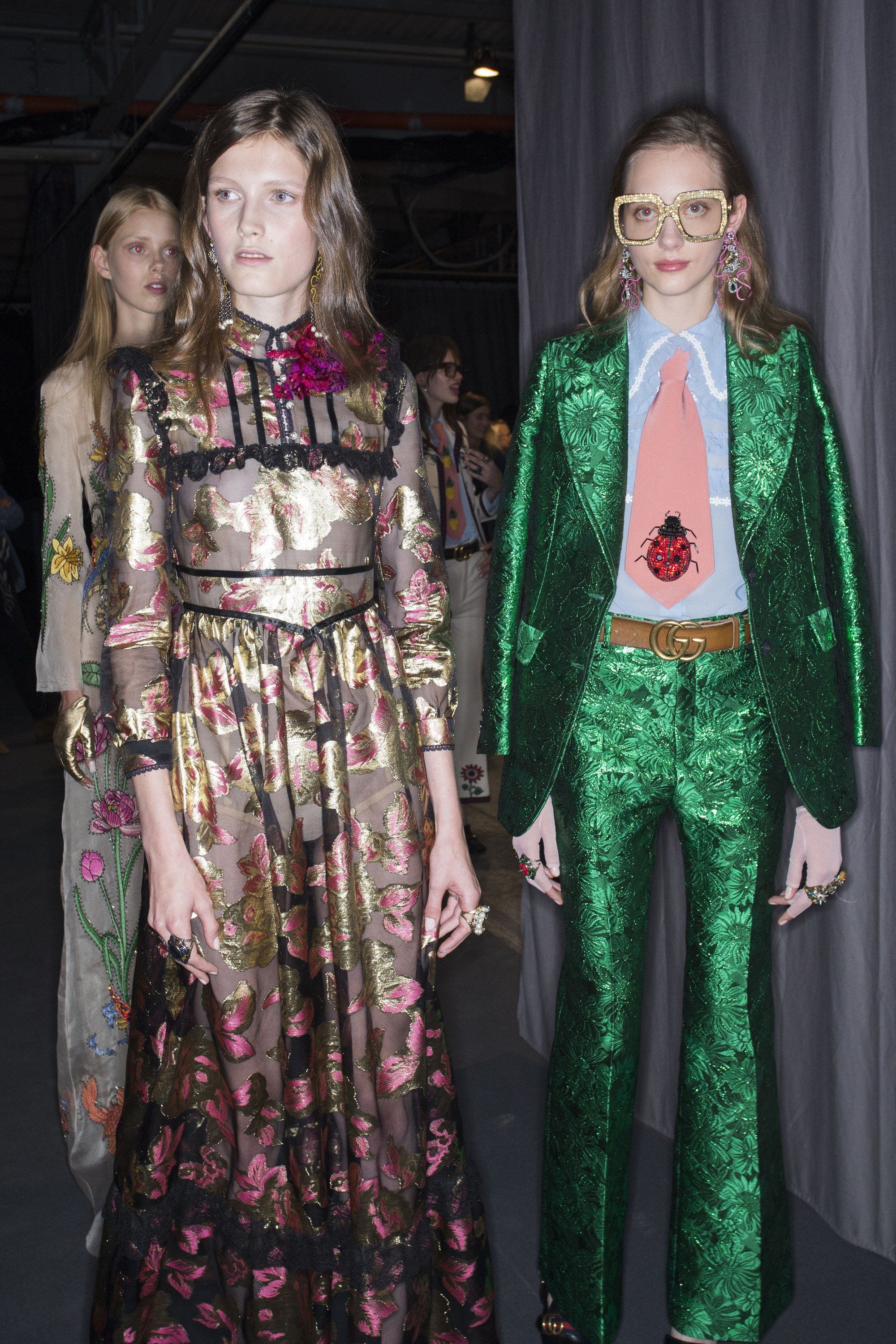 gucci inspired clothing. gucci spring 2016 ready-to-wear fashion show beauty inspired clothing s