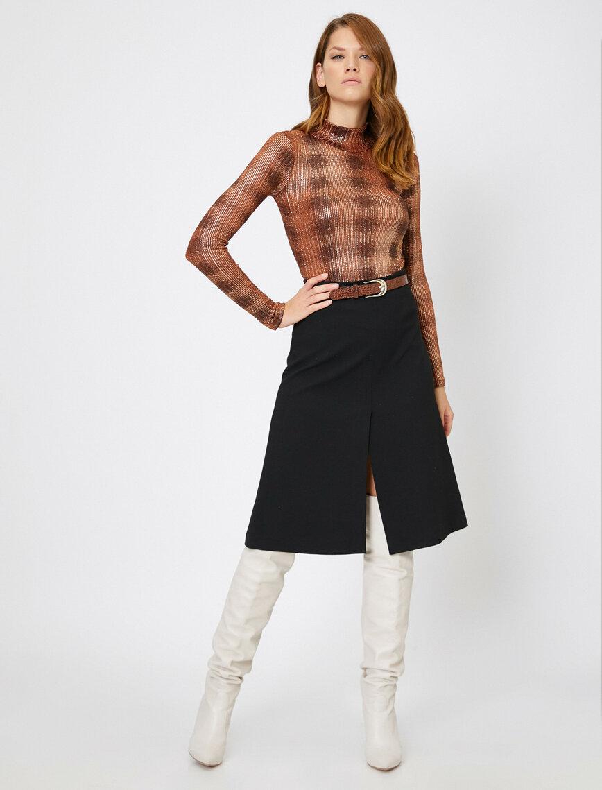 Skirtly Yours Styled By Melis Agazat Etek Etek Midi Etekler Stil
