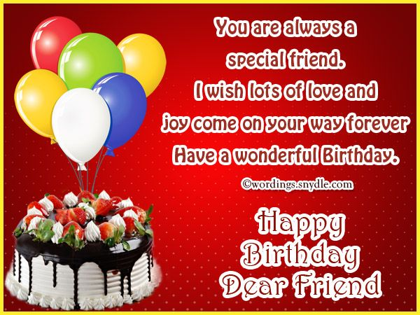 Best Friend Birthday Messages: Happy Birthday Wishes for A Best ...