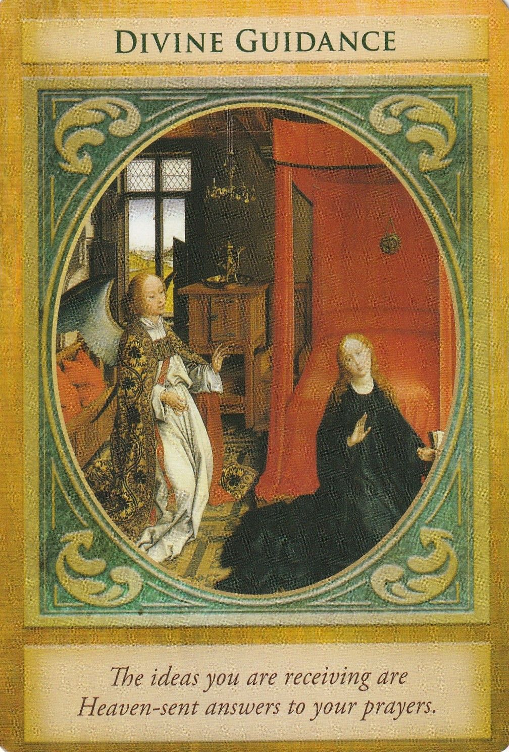 Archangel gabriel oracle cards by doreen virtue arcanjo