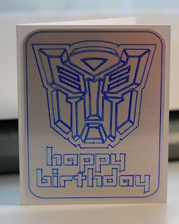Transformers Birthday Card Perfect For Lance Transformer Birthday Birthday Cards Cards