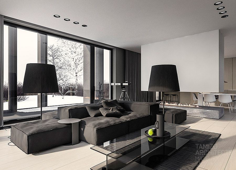 How to create minimalist home design ideas which combine a for Minimalist house design color