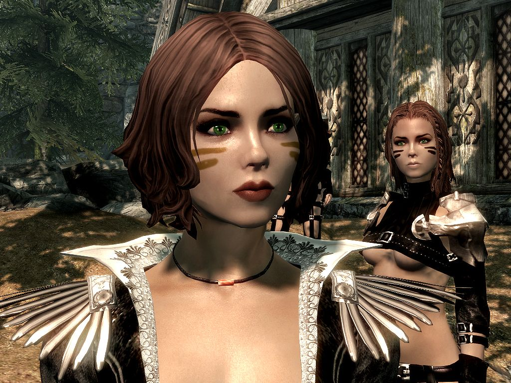DIMONIZED UNP female body by dimon99   Skyrim   Skyrim mods female