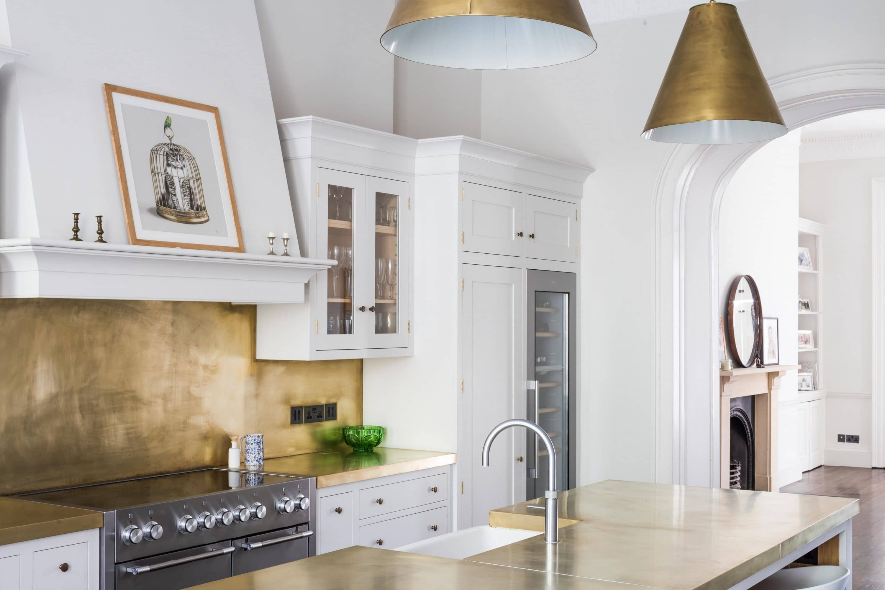 Best View Of Shaker Kitchen Cabinets Painted In Farrow Ball 400 x 300