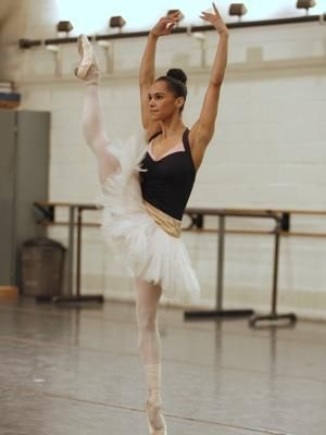 Misty Copeland Fierce And Determined Misty Copeland