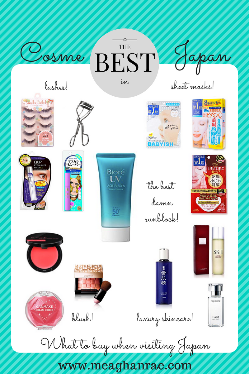 The Best Beauty Products To Buy When Visiting Japan Japan Makeup Japan Makeup Products Japanese Skincare