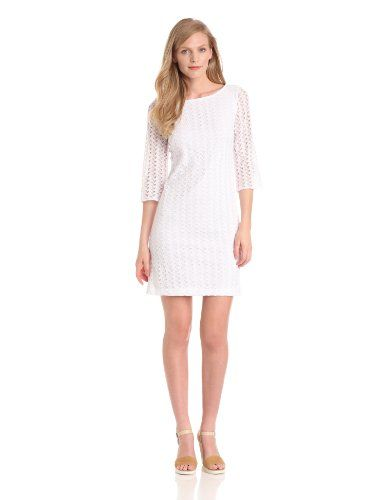 Nine West Dresses Women's Crochet Leaves Shift Dress, White, 8 Nine West,http://www.amazon.com/dp/B00C670V2W/ref=cm_sw_r_pi_dp_PEGssb1E4YQ5RMRX  CUte simple.... Fall appropriate
