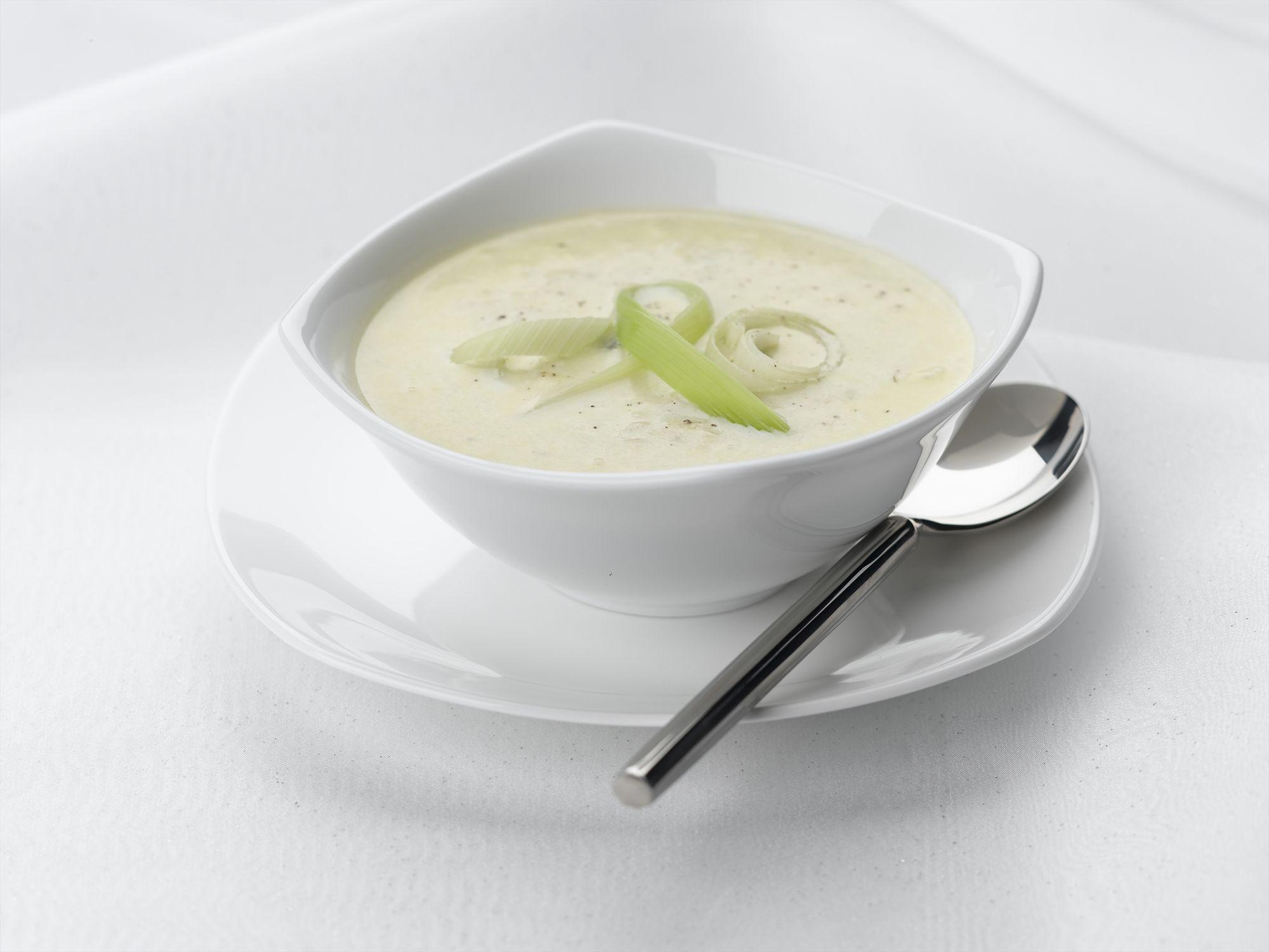 Leek and stilton soup recipe wwwbritishleekscouk