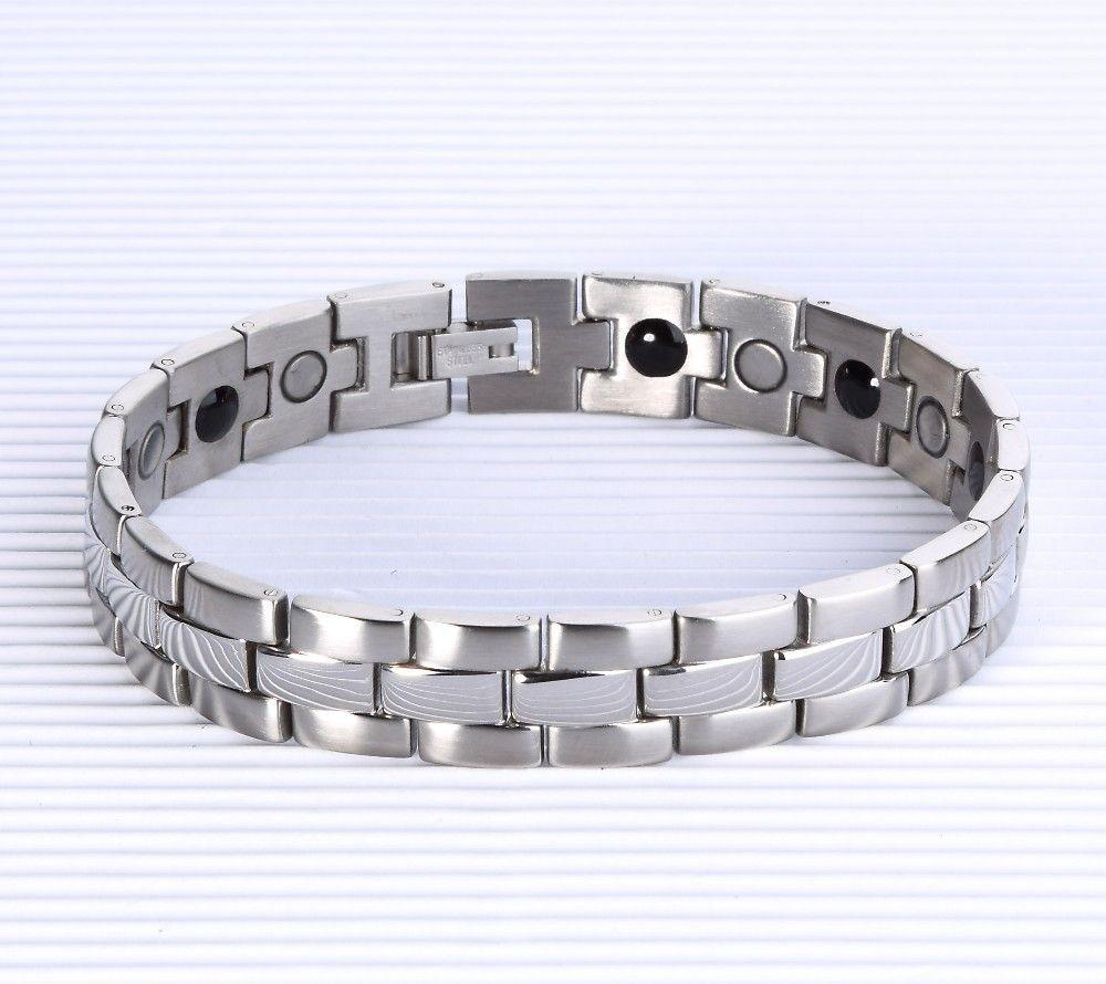 High quality healing magnet l stainless steel bracelet bracelet