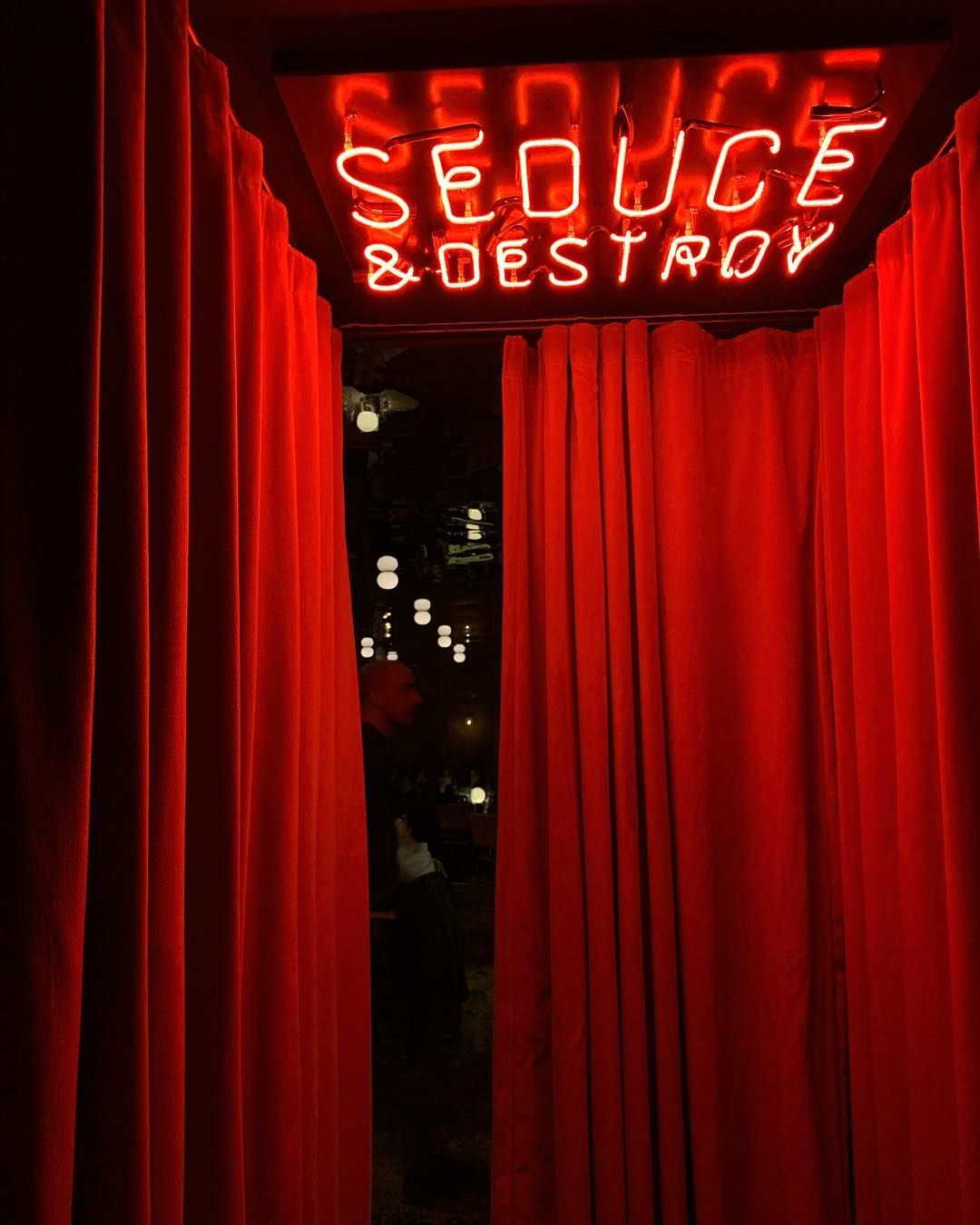 Pin by Caroline on RED Secret rooms, Instagram, Neon signs