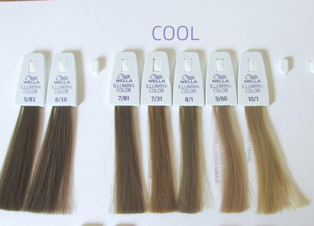 Wella Illumina Cools Light Ash Brown Hair Color