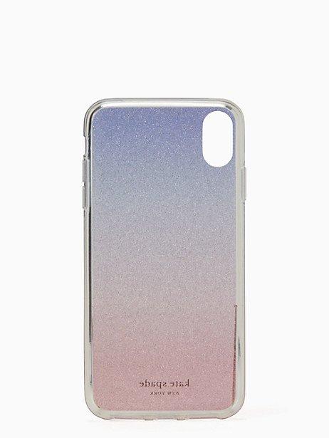a0351c7ddcf63 Kate Spade Glitter Ombre Iphone Xs Max Case, Sunset Glitter Ombre ...