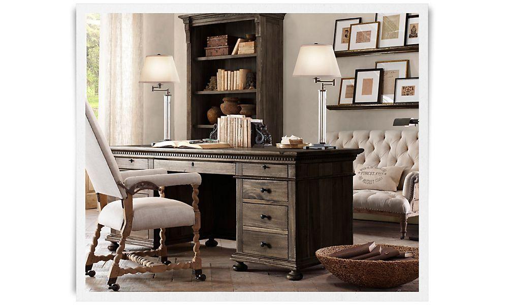 Amazing Restoration Hardware Office Furniture #13: 1000+ Images About RESTORATION HARDWARE On Pinterest   Rh Baby, Nurseries And Shelving