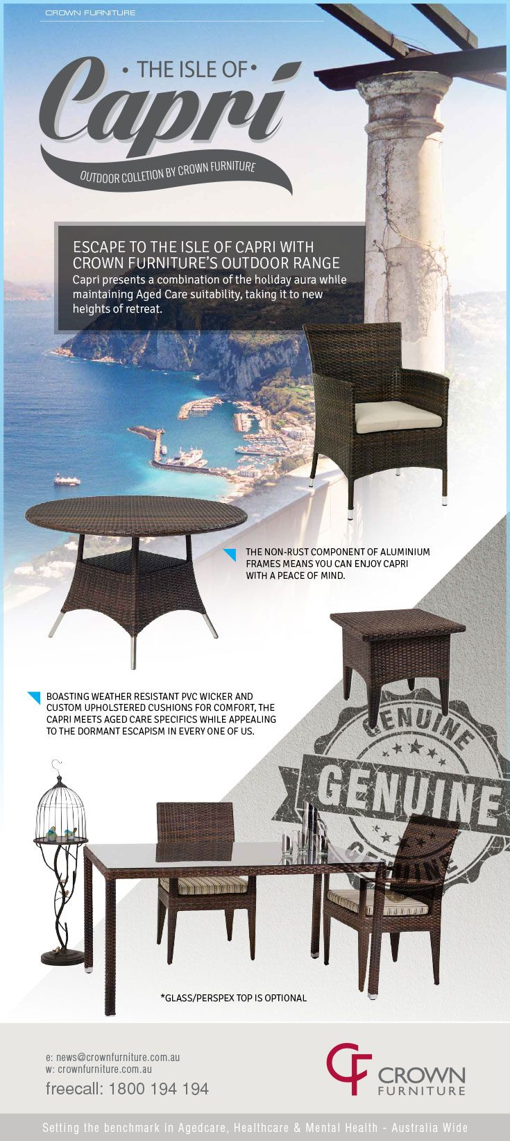 Edm for crown furniture
