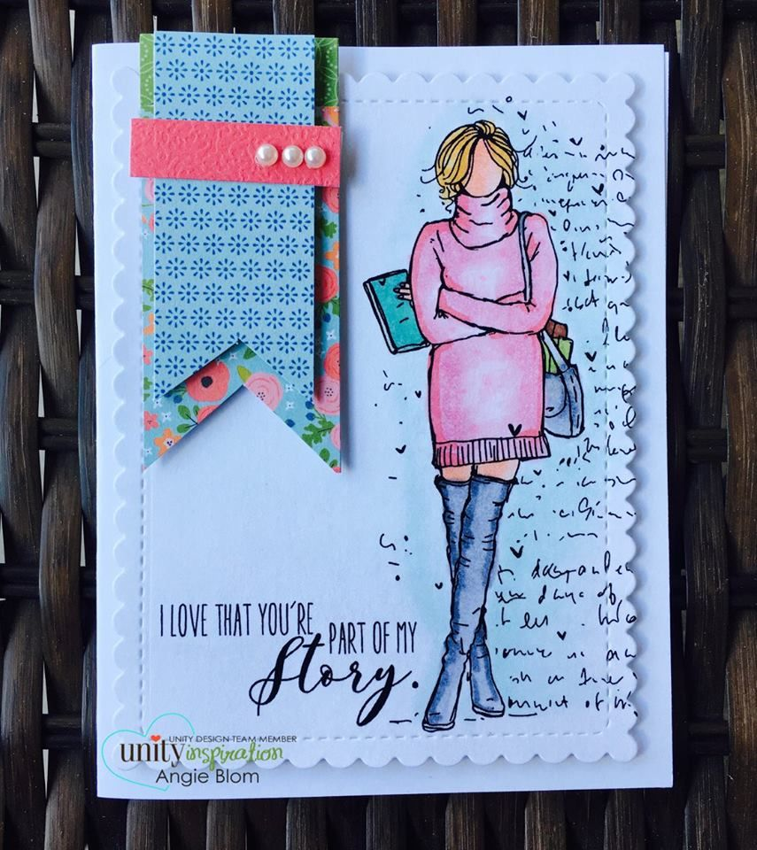 Wakely Girl   Stamps   Unity stamps, Beautiful handmade