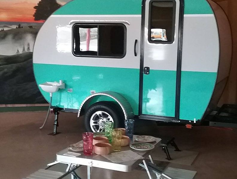 Rustic Trail Teardrop Campers   POLAR BEAR $7,000   Rustic
