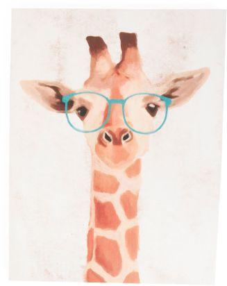 Kids 23x30 Hipster Giraffe Canvas Wall Art TJ Maxx #affiliate ...