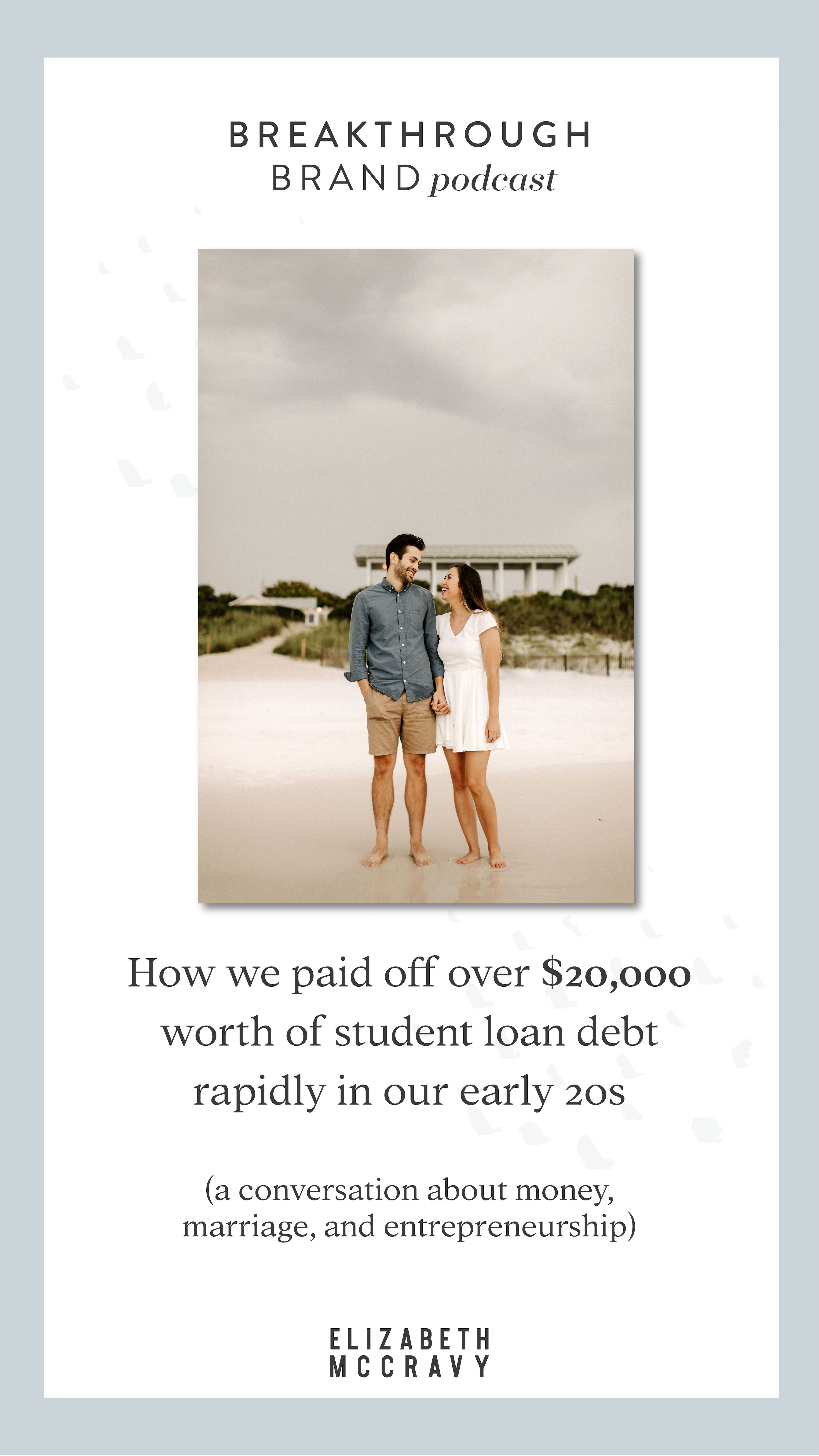 Money Marriage And Entrepreneurship A Conversation With My Husband Student Loan Debt Personal Finance Student Loans
