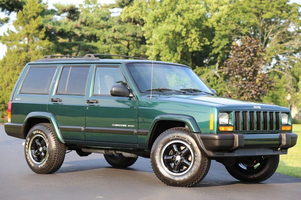 Ebay 2000 Jeep Cherokee Sport Xj 2000 Jeep Cherokee Sport Xj 104k
