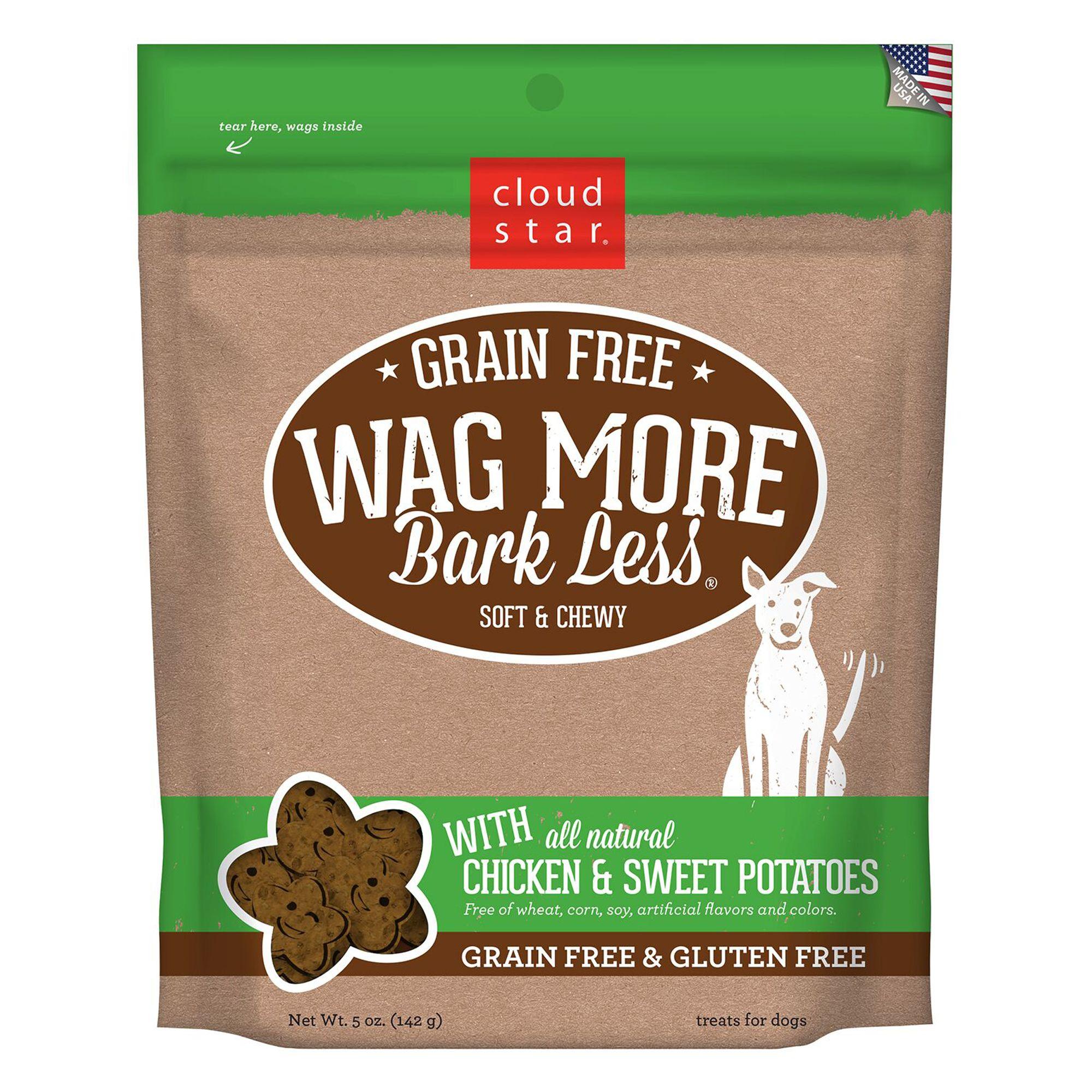 Cloud Star Wag More Bark Less Dog Treat Natural Grain And