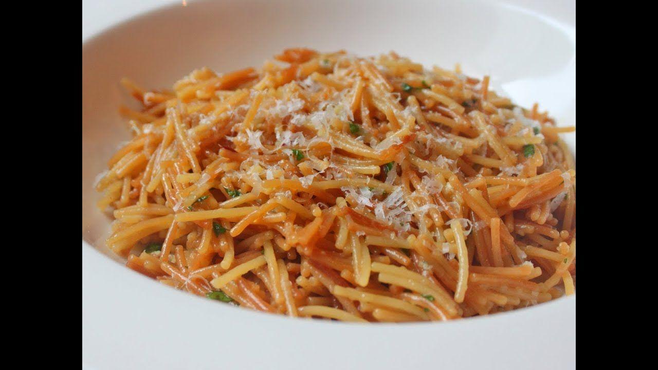 Broken Spaghetti Risotto Pasta Recipe Youtube Recipes