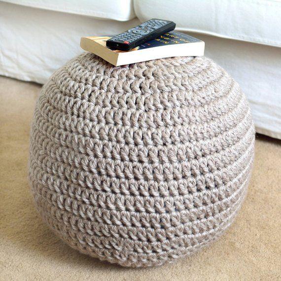 Pouf Ottoman Pdf Crochet Pattern