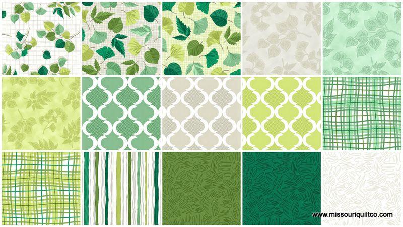 Verde Layer Cake Studio 8 Quilting Treasures Quilting Treasures Charm Pack Quilt Green Quilt
