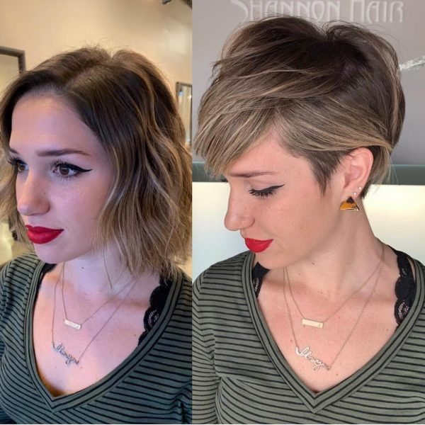 Kurzhaarschnitte Fuer Feines Haar