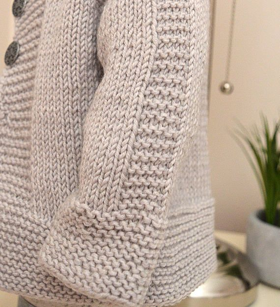 Simple and stylish quick knit top down P113 | tejido | Pinterest ...