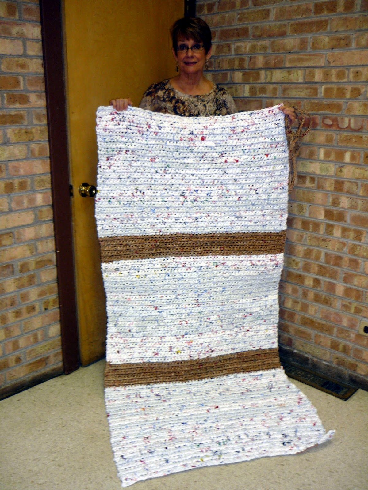 Sleeping Mat For The Homeless Out Of Plarn Just Like New Life For Old Bags!