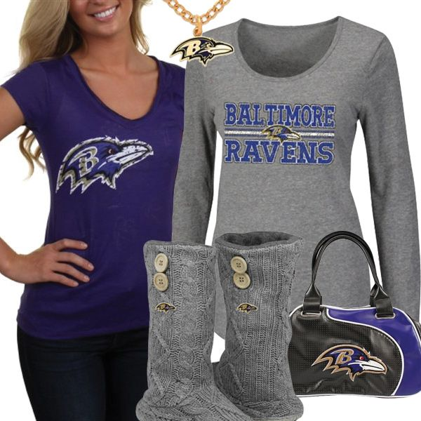 designer fashion 67cb8 370c4 Baltimore Ravens NFL Fan Gear, Baltimore Ravens Female ...