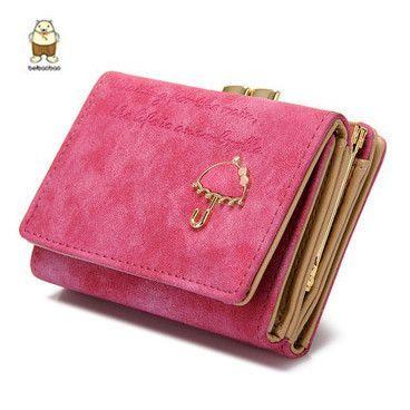Wallet Leather Purse Clutch Bag