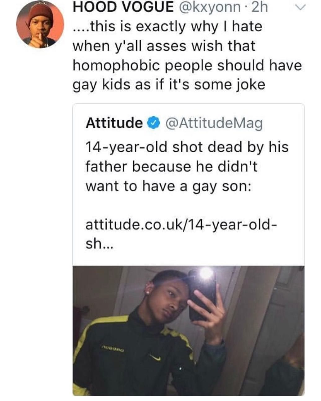 """Equality Only on Instagram: """"Disgusting, how could you kill"""