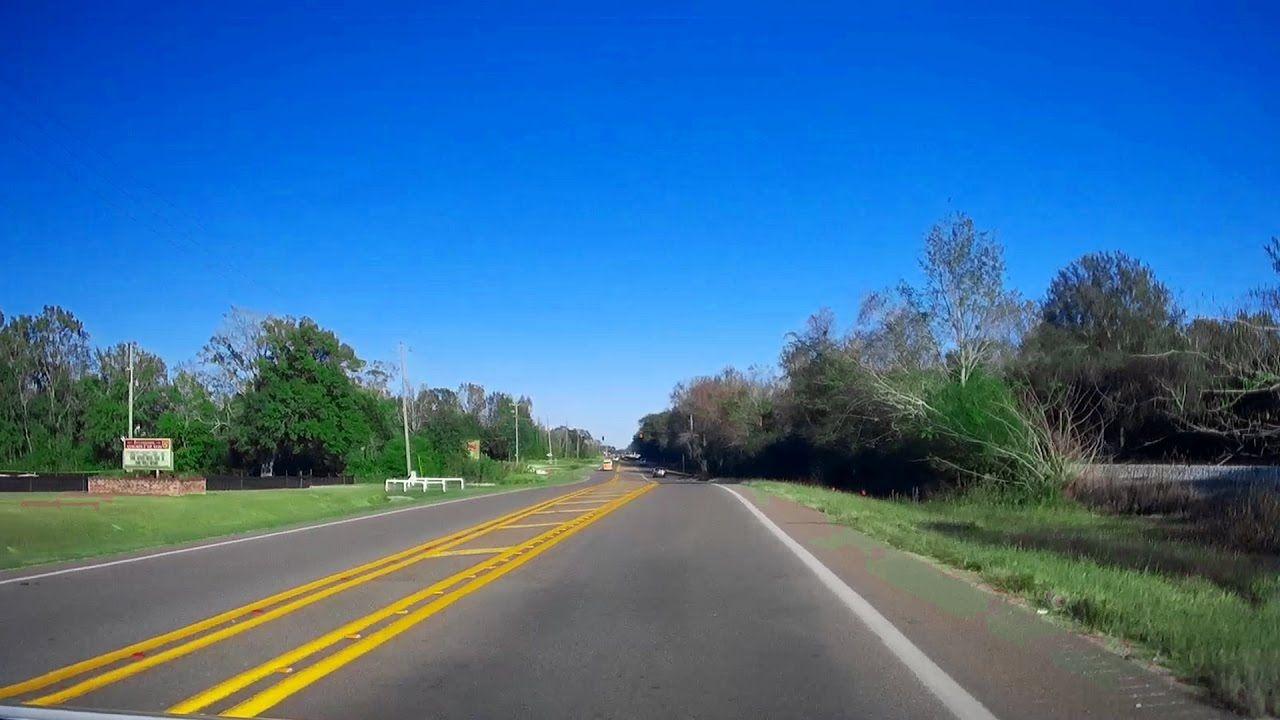 US East Alabama State Line To Tillmans Corner Travel - Us 90 road mississippi map