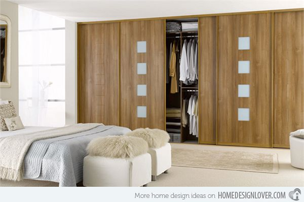15 Bedroom Wardrobe Cabinets With Wooden Finishes Home Design Lover Master Bedroom Wardrobe Designs Bedroom Wardrobe Design Bedroom Design Master bedroom cupboards wooden design
