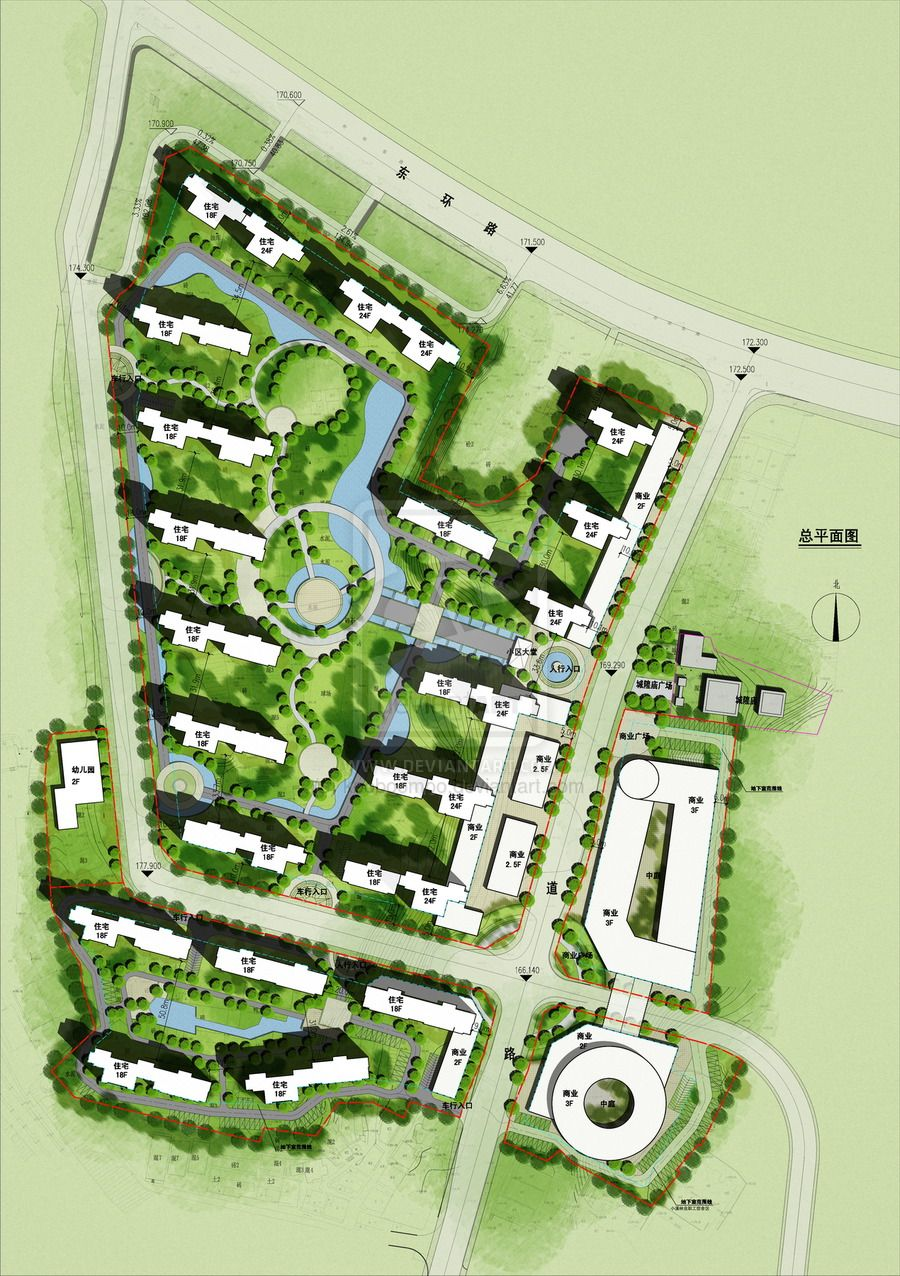 32 watercolor site plan rendering starwood resorts 1 th