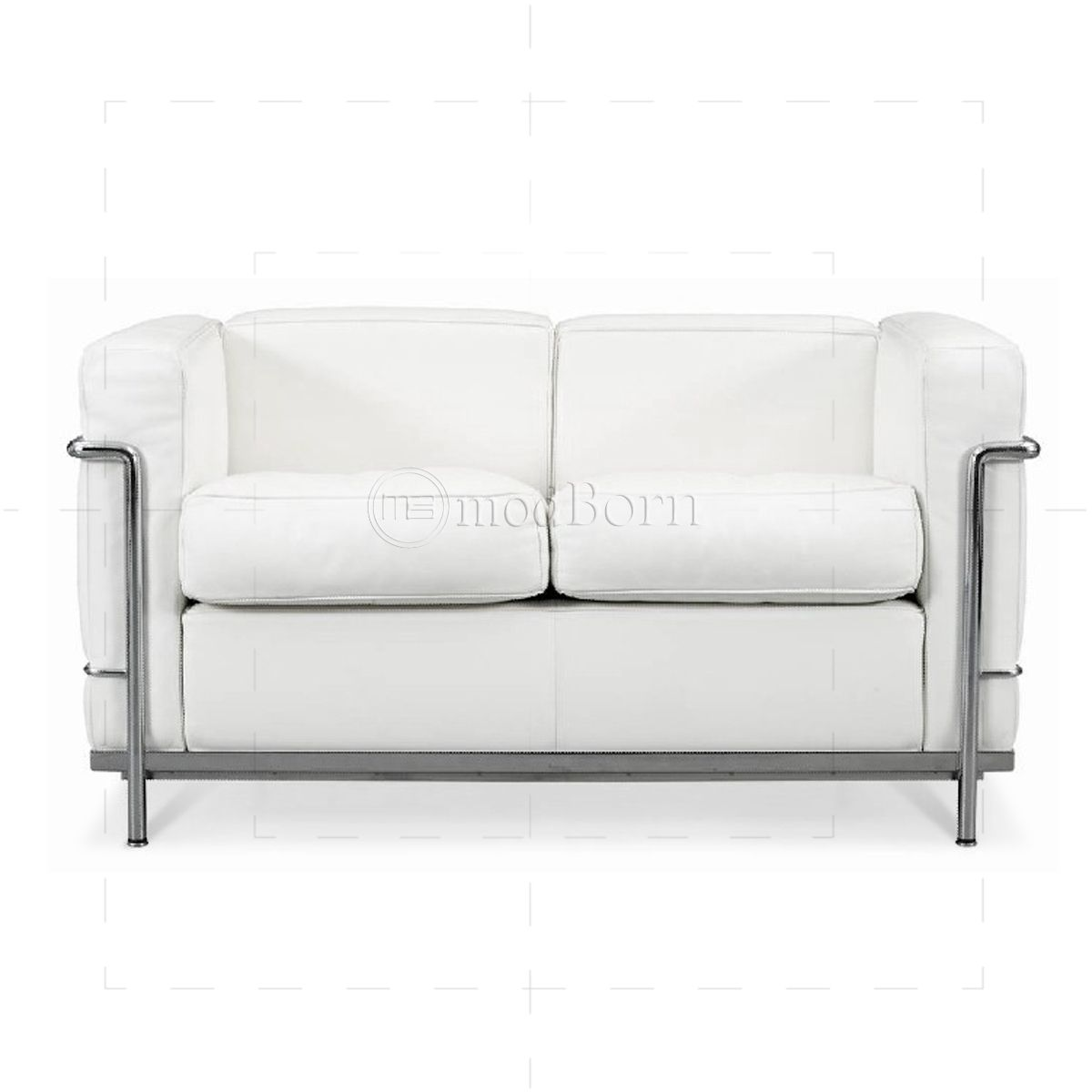 Awesome White Leather 2 Seater Sofa Luxury 96 For Your