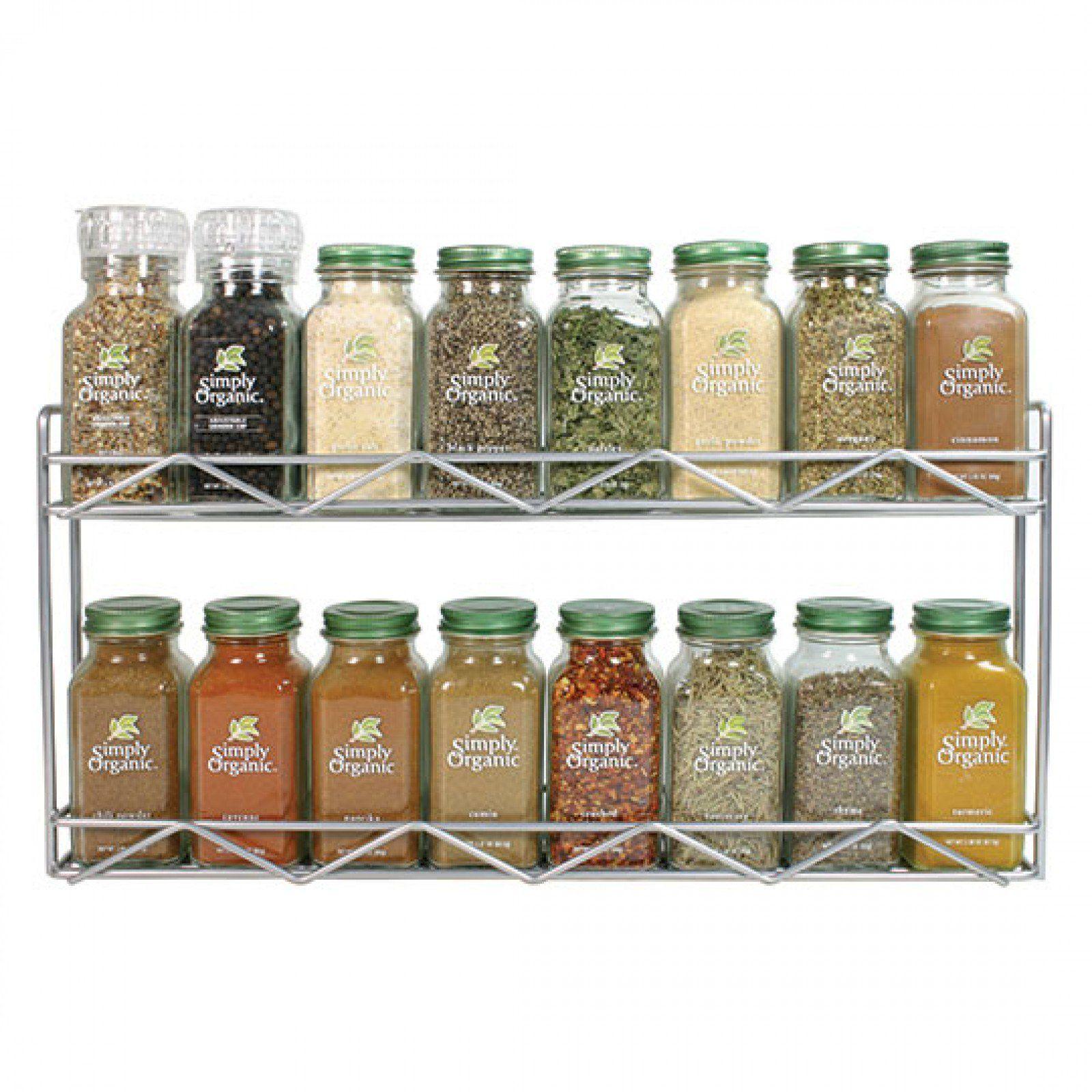 Organic Spice Rack Entrancing Simply Organic 16Count Spice Rack  Simply Organic  Christmas Inspiration