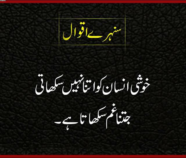 15 Sunehri Batein in Urdu - Anmol Batein in Urdu - Sacchi
