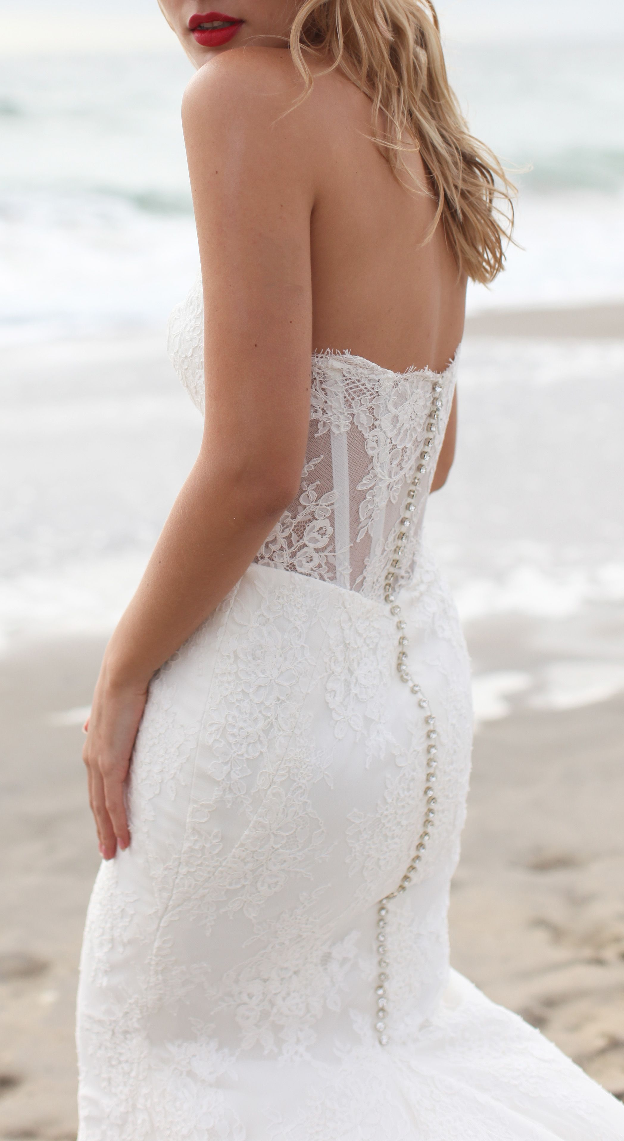 Ginger By Kelly Faetanini Illusion Lace Corset Back Wedding Dress With Glamoro Destination Wedding Dress Lace Back Wedding Dress Corset Back Wedding Dress