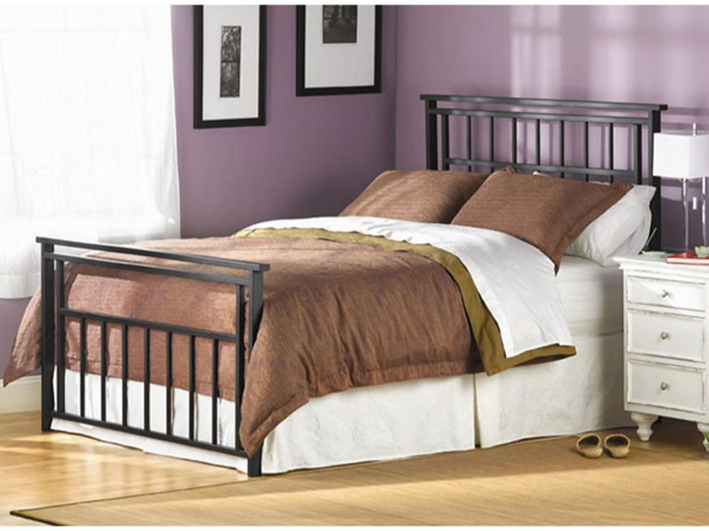 Aspen Bed By Wesley Allen Bedrooms More Seattle Iron Bed Home California King Headboard