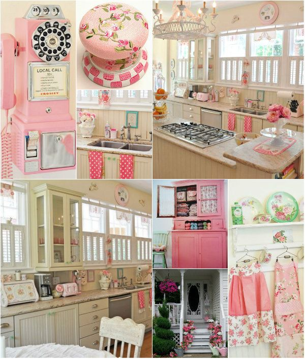 Girly Kitchen Decor: Cottage ♥so Girly!!!