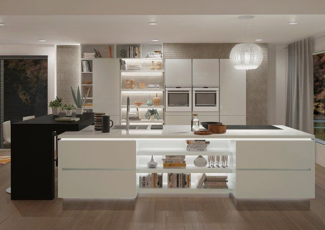 Cuisine  les modèles les plus tendances Architecture interiors - nolte küche planen