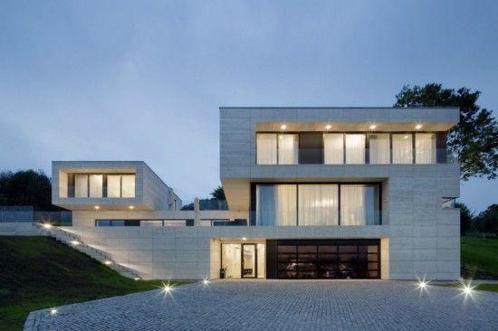 Fachada de casa minimalista #Casasminimalistas Casas minimalistas - casas minimalistas