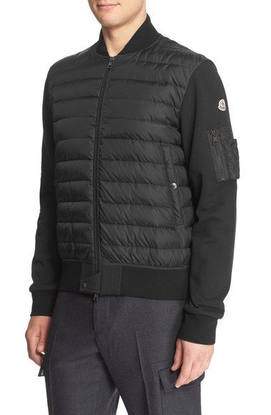 62c7f3d5d MONCLER Mixed Media Quilted Down Jacket.  moncler  cloth