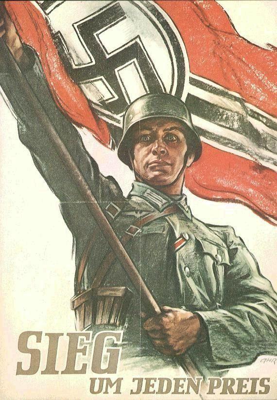 Propaganda de guerra alemã.